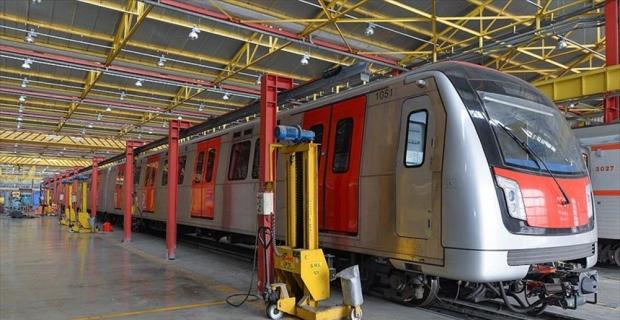 Başkentin metro araç filosu genişliyor