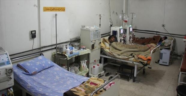 Rejim, Doğu Guta'da ağır hastaların bile tahliyesine izin vermiyor