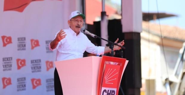 Kılıçdaroğlu: Şeker fabrikaları vatandır, satılamaz