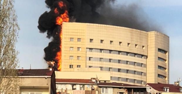 Taksim İlk Yardım Hastanesi'nde yangın