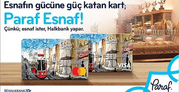 Halkbank'tan esnafa özel kredi kartı