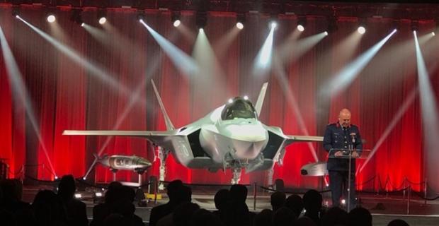 İlk F-35'ler için tören yapıldı