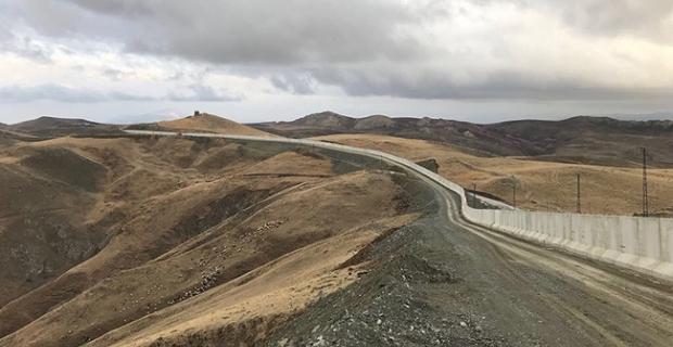 Suriye sınır duvarı tamam, sırada İran var