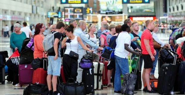Türkiye 8 milyon turisti ağırladı