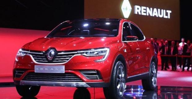 Renault ARKANA ilk kez görücüye çıktı