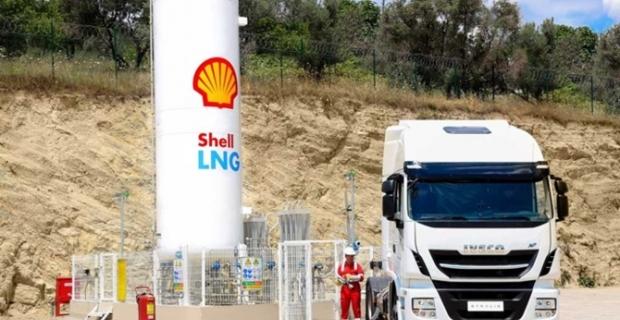 Shell&Turcas kamyonlarda LNG kullanımı için dolum sistemi kurdu