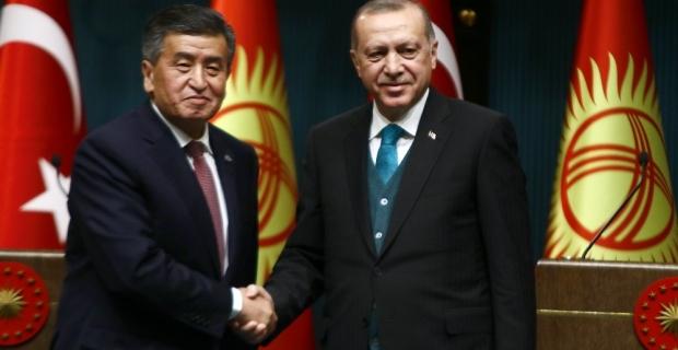 Cumhurbaşkanı Erdoğan, Kırgızistan'da