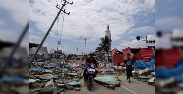 Endonezya'da ölü sayısı 384'e çıktı