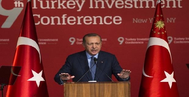 Erdoğan, ABD'de yatırımcılara seslendi