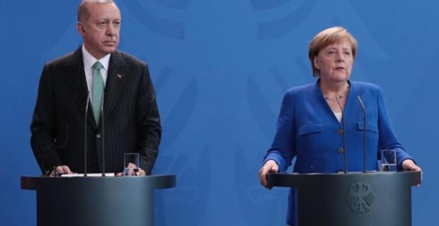 Erdoğan ve Merkel yarın ekonomi konuşacak