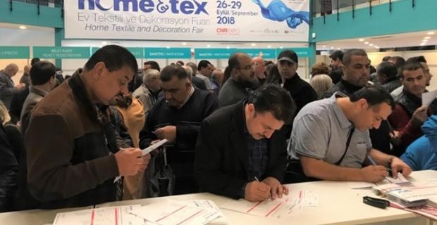 Home&Tex'te 60'ın üzerinde ülkeden ev tekstili alıcısı ağırlanıyor