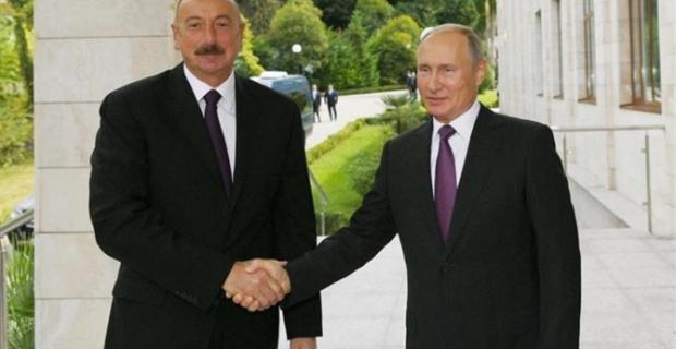 Putin ve Aliyev'den 'Dağlık Karabağ' mesajı
