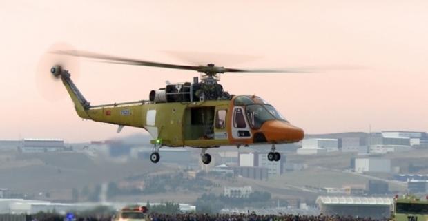 Yerli helikopter ilk kez havalandı