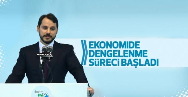 Albayrak: Ekonomide dengelenme süreci başladı