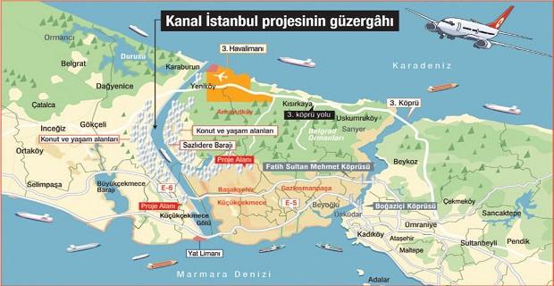 """Kanal İstanbul'da """"yeni şehir"""" için ilk adım atıldı"""