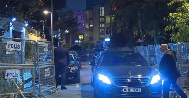 Suudi Arabistan'ın İstanbul Başkonsolosluğunda hareketlilik