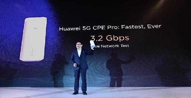 Huawei, 5G çipseti ile CPE'sini tanıttı