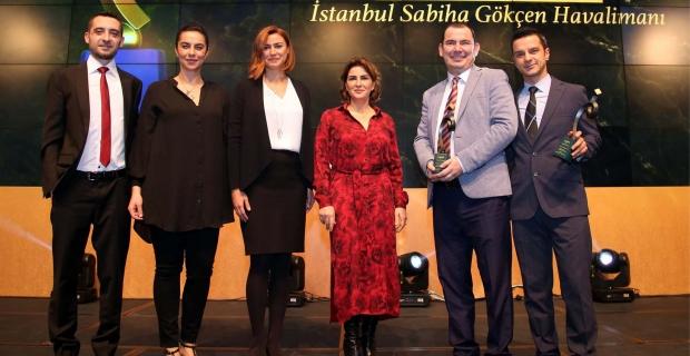 Sabiha Gökçen Uluslararası Havalimanı'na  PRİDA'dan 4 ödül