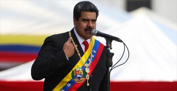 Venezuela Devlet Başkanı Maduro: Guaido'nun geçici devlet başkanlığını ilan etmesi yargının elinde
