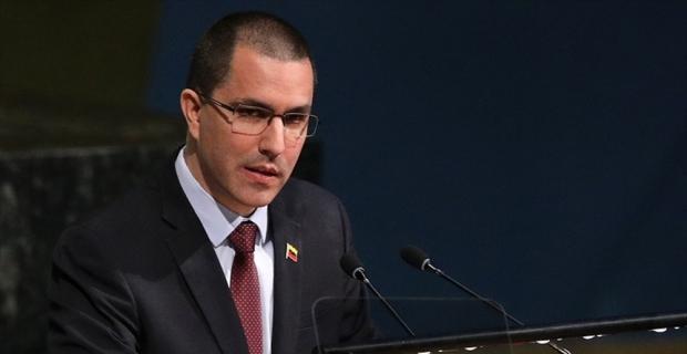Venezuela Dışişleri Bakanı Arreaza: Venezuela OAS'den tamamen ayrılacak