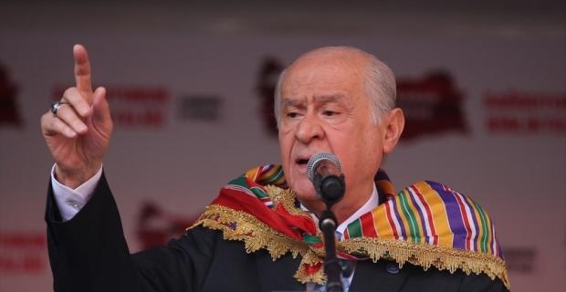 MHP Genel Başkanı Devlet Bahçeli: Büyük milletlerin her zaman beka meselesi vardır