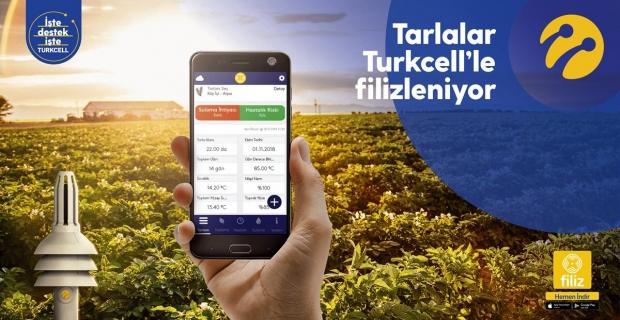 Turkcell'den tarımsal sulamada yüzde 10 tasarruf