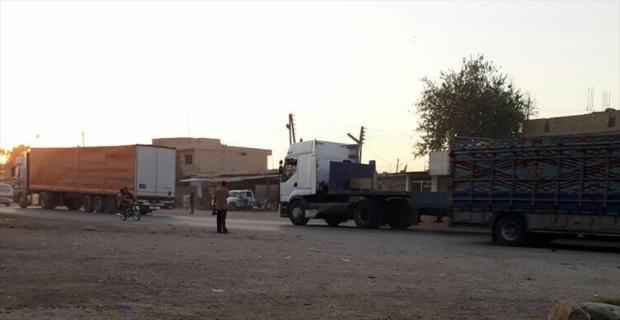 ABD'den YPG/PKK'nın işgalindeki bölgeye yeni sevkiyat