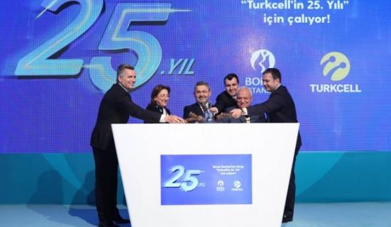 Borsa İstanbul'da gong Turkcell için çaldı
