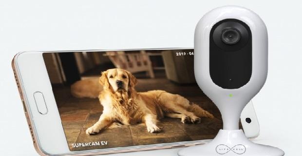 Supercam, evi telefondan izlemeyi sağlıyor
