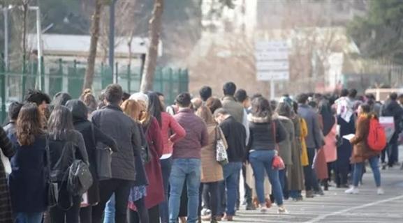 İşsizlik oranı yüzde 13,8'e geriledi
