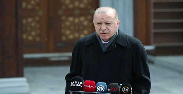 Erdoğan'dan Kanal İstanbul açıklaması: Köprülerden bir tanesinin adımını haziranda atacağız