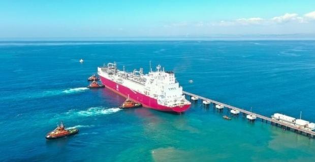 Ertuğrul Gazi,Türkiye'ye ulaştı: 28 milyon metreküp kapasiteye sahip
