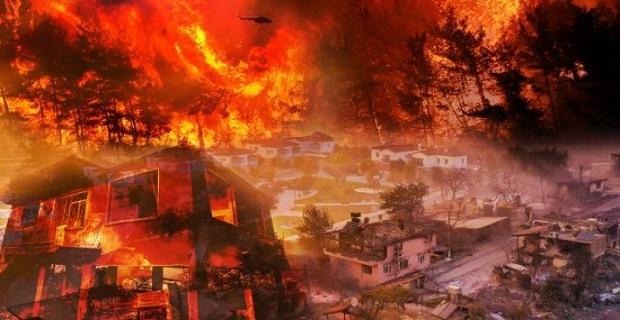 Yangın alanları 'Genel Hayata Etkili Afet Bölgesi' ilan edildi
