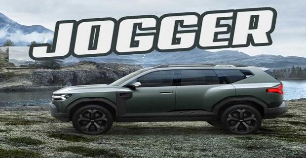 """Dacia'nın yeni 7 koltuklu aile aracının adı """"Dacia Jogger"""" oldu"""