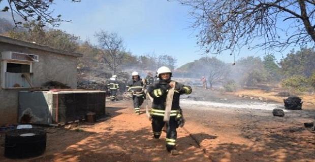 Yangınla mücadele devam ediyor