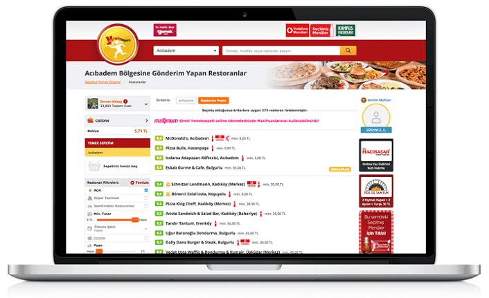 Yemeksepeti, 1,5 yılda 45 bin restoranı dijitalleştirdi