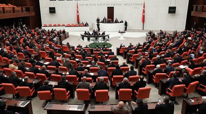 Meclisin gündemi 'vergi düzenlemesi'