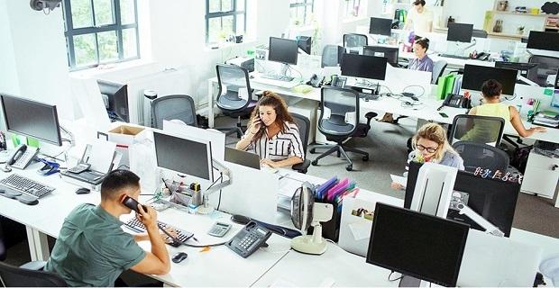 Şirketlerin yüzde 85'i esnek ofis alanlarını tercih ediyor!