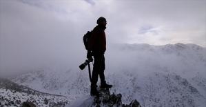 Giden Gelmez Dağları fotoğraf tutkunlarının gözdesi