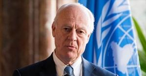 BM Özel Temsilcisi Mistura'dan Doğu Guta'da acil ateşkes çağrısı