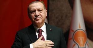 Cumhurbaşkanı Erdoğan'a doğum günü tebriği