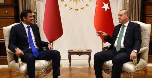 Erdoğan ile Katar Emiri arasında 3,5 saatlik görüşme