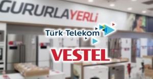 Türk Telekom ve Vestel'den 'yerli' işbirliği