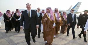 ABD Dışişleri Bakanı Pompeo, Suudi Arabistan'da