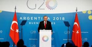 Cumhurbaşkanı Erdoğan'ın G20 mesajları