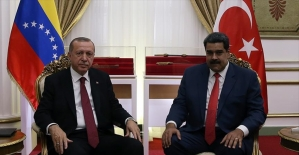 Cumhurbaşkanı Erdoğan'dan Maduro'ya destek