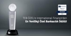 """TEB Özel Bankacılık'a """"Türkiye'deki En İyi Özel Bankacılık Ödülü"""" verildi"""