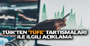 TÜİK'ten TÜFE açıklaması