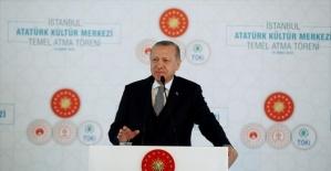 'İstanbul Atatürk Kültür Merkezi bir zafer anıtı olacaktır'