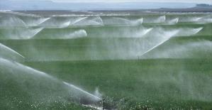 Kamunun tarım yatırımlarında sulama dopingi